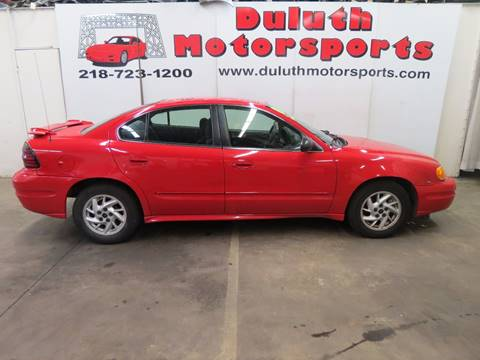 2003 Pontiac Grand Am for sale in Duluth, MN
