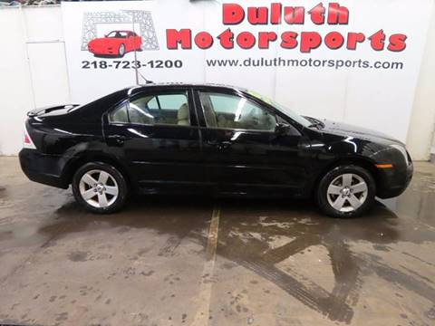 2007 Ford Fusion for sale in Duluth, MN