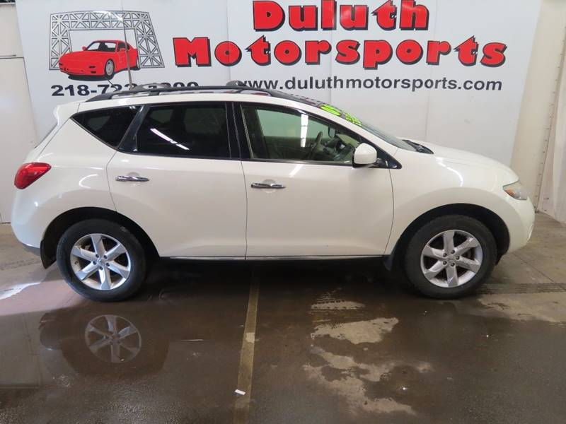 2009 Nissan Murano for sale at Duluth Motorsports INC in Duluth MN