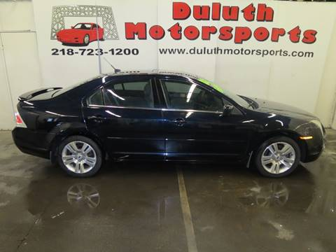 2008 Ford Fusion for sale at Duluth Motorsports INC in Duluth MN