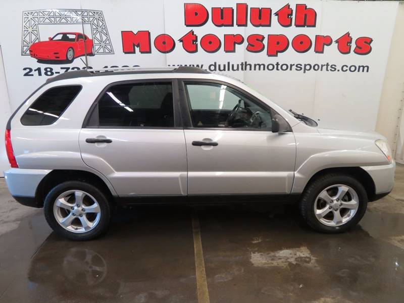 2009 Kia Sportage for sale at Duluth Motorsports INC in Duluth MN