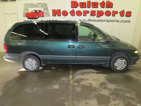 1999 Dodge Grand Caravan for sale at Duluth Motorsports INC in Duluth MN