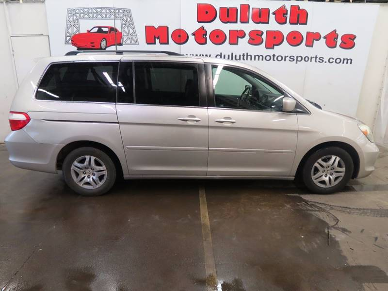 2007 Honda Odyssey for sale at Duluth Motorsports INC in Duluth MN