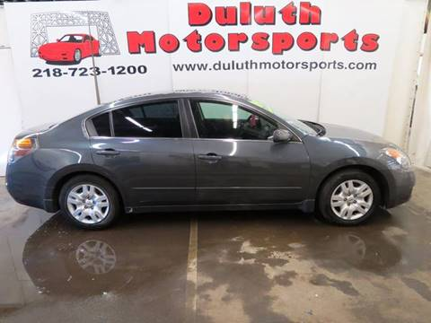 2009 Nissan Altima for sale at Duluth Motorsports INC in Duluth MN