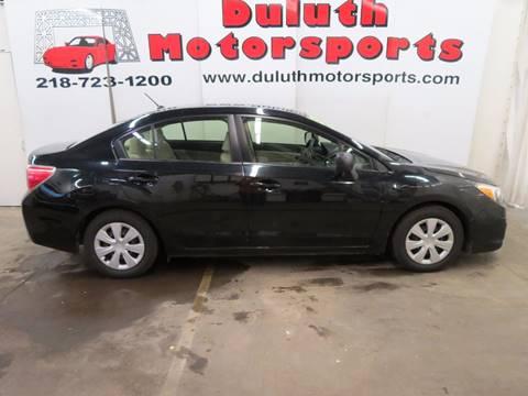 2013 Subaru Impreza for sale in Duluth, MN