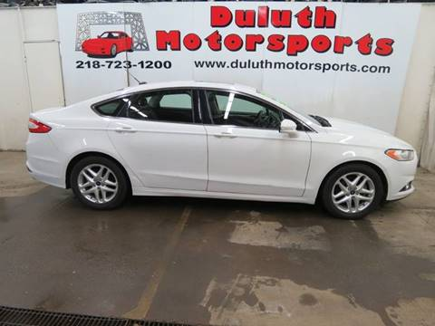 2016 Ford Fusion for sale in Duluth, MN