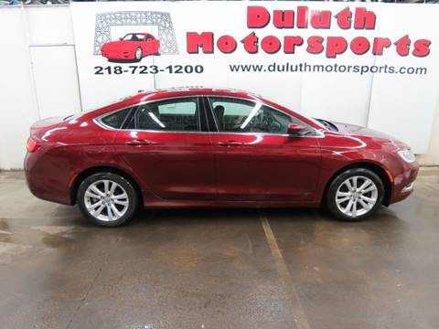 2015 Chrysler 200 for sale in Duluth, MN
