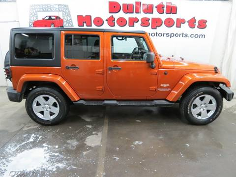 2011 Jeep Wrangler Unlimited for sale in Duluth, MN