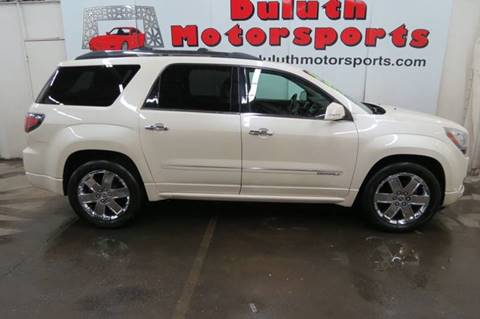2013 GMC Acadia for sale in Duluth, MN