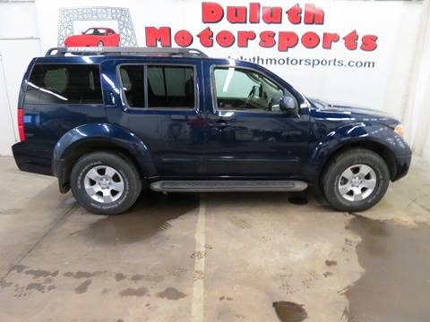 2007 Nissan Pathfinder for sale in Duluth, MN