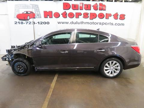 2014 Buick LaCrosse for sale in Duluth, MN