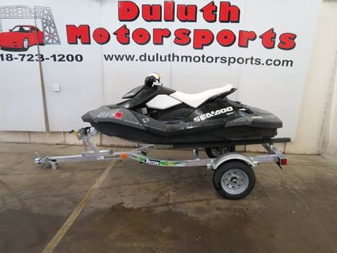 2014 Sea-Doo Spark for sale in Duluth, MN