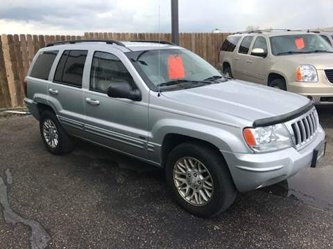 2004 Jeep Grand Cherokee for sale at Used a Bit Auto Sales in Fargo ND