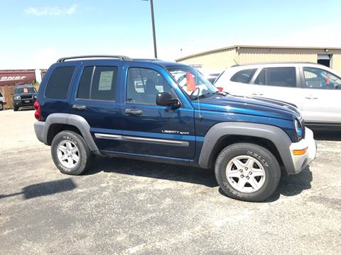 2003 Jeep Liberty for sale at Used a Bit Auto Sales in Fargo ND