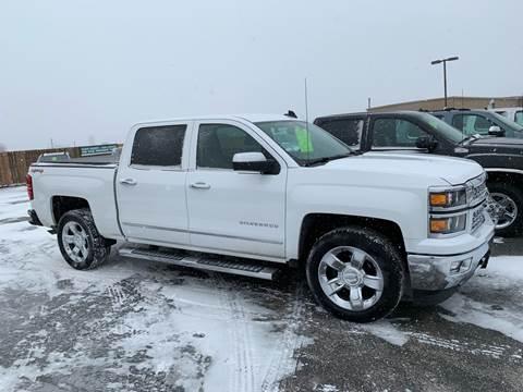 2015 Chevrolet Silverado 1500 for sale at Used a Bit Auto Sales in Fargo ND
