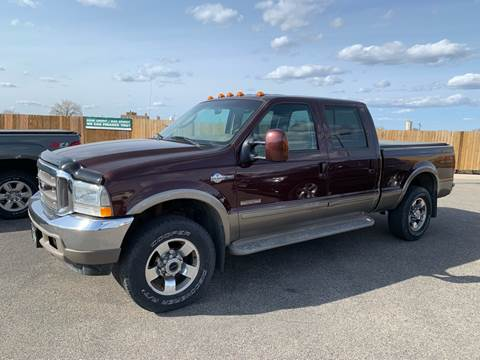 2004 Ford F-250 Super Duty for sale at Used a Bit Auto Sales in Fargo ND