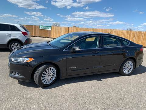 2013 Ford Fusion Hybrid for sale at Used a Bit Auto Sales in Fargo ND