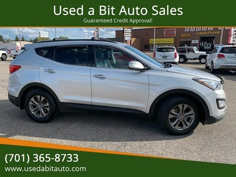 2013 Hyundai Santa Fe Sport for sale at Used a Bit Auto Sales in Fargo ND
