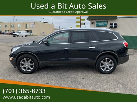 2009 Buick Enclave for sale at Used a Bit Auto Sales in Fargo ND