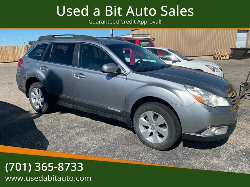 2010 Subaru Outback for sale at Used a Bit Auto Sales in Fargo ND