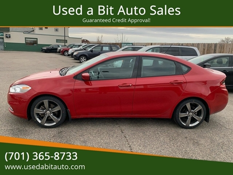 2013 Dodge Dart for sale at Used a Bit Auto Sales in Fargo ND