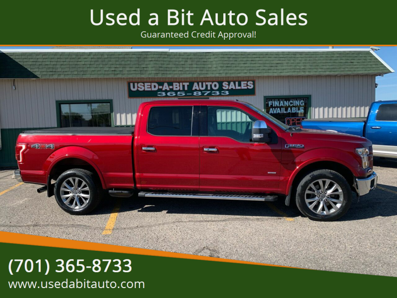 2015 Ford F-150 for sale at Used a Bit Auto Sales in Fargo ND