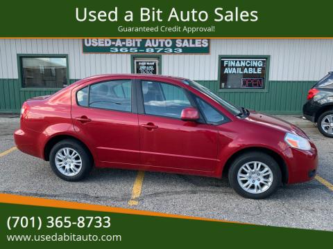2013 Suzuki SX4 for sale at Used a Bit Auto Sales in Fargo ND