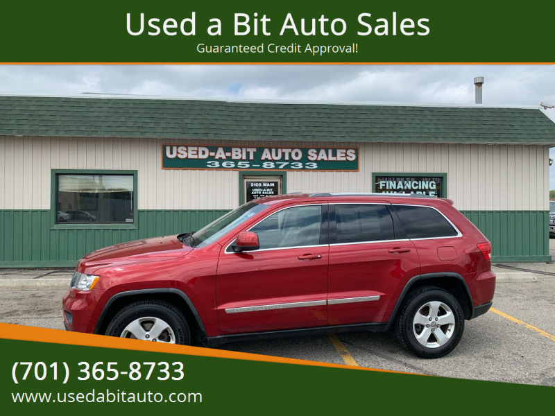 2011 Jeep Grand Cherokee for sale at Used a Bit Auto Sales in Fargo ND