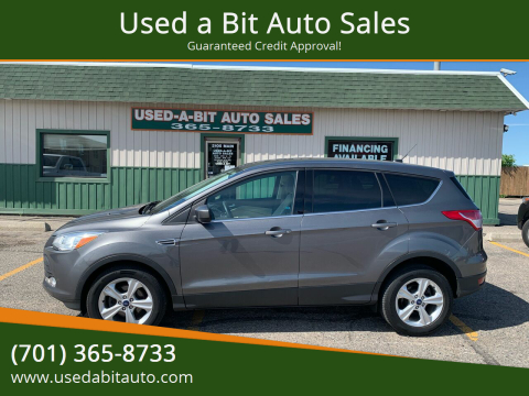 2014 Ford Escape for sale at Used a Bit Auto Sales in Fargo ND