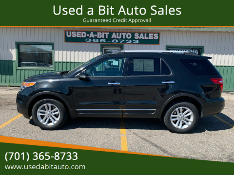 2013 Ford Explorer for sale at Used a Bit Auto Sales in Fargo ND
