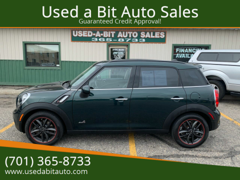 2014 MINI Countryman for sale at Used a Bit Auto Sales in Fargo ND