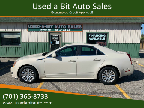 2011 Cadillac CTS for sale at Used a Bit Auto Sales in Fargo ND