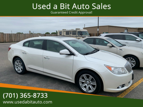 2012 Buick LaCrosse for sale at Used a Bit Auto Sales in Fargo ND