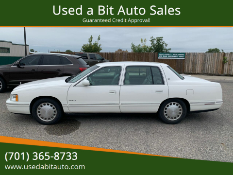 1999 Cadillac DeVille for sale at Used a Bit Auto Sales in Fargo ND
