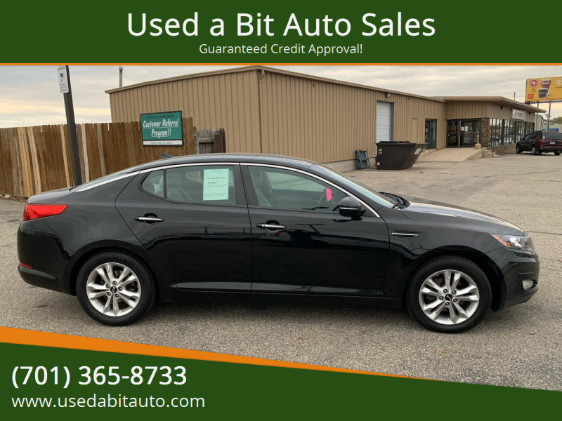 2011 Kia Optima for sale at Used a Bit Auto Sales in Fargo ND