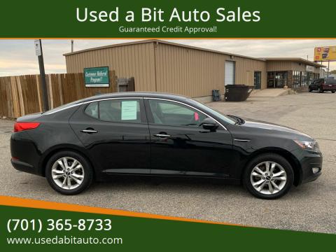 2011 Kia Optima for sale at Used a Bit Auto Sales in Fargo ND