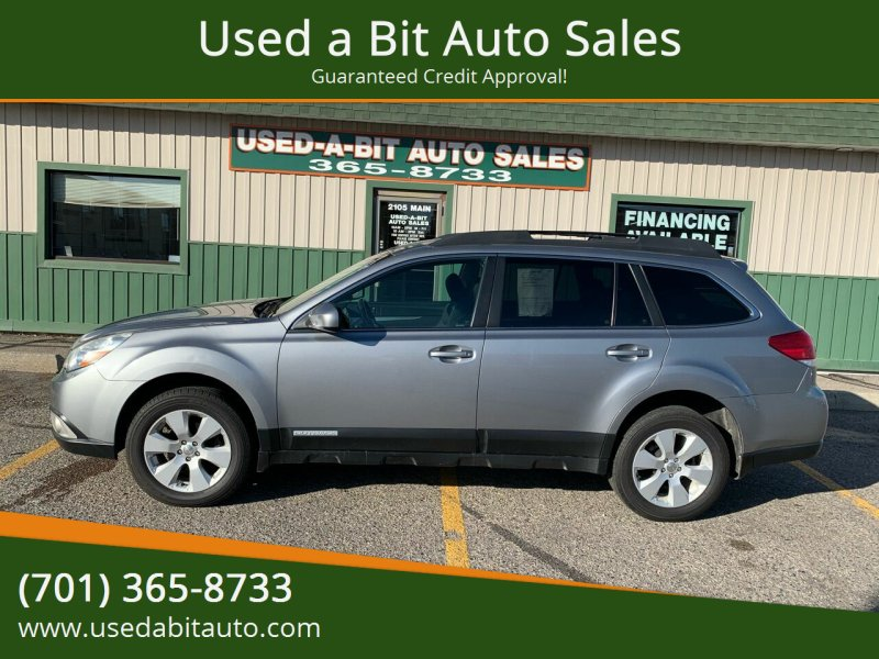 2011 Subaru Outback for sale at Used a Bit Auto Sales in Fargo ND