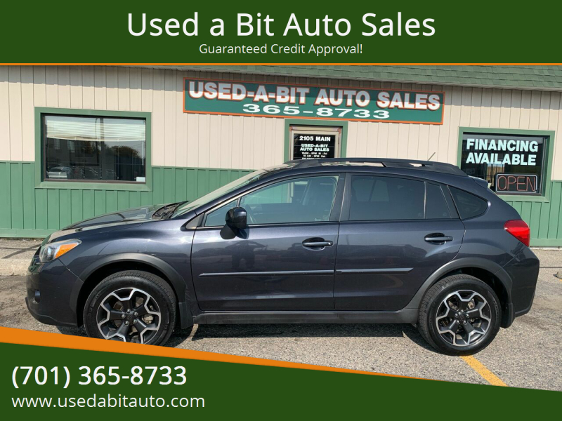 2013 Subaru XV Crosstrek for sale at Used a Bit Auto Sales in Fargo ND