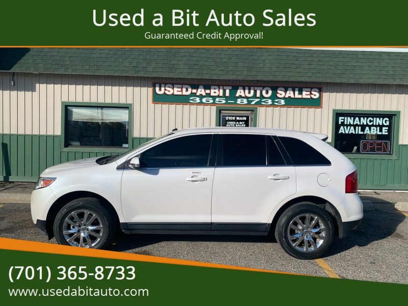 2013 Ford Edge for sale at Used a Bit Auto Sales in Fargo ND