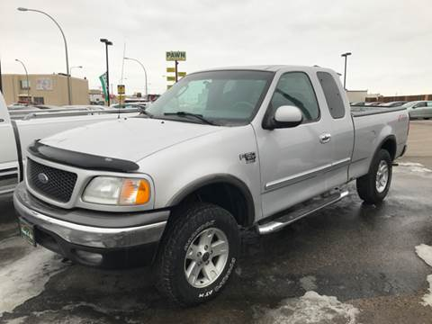 2002 Ford F-150 for sale at Used a Bit Auto Sales in Fargo ND