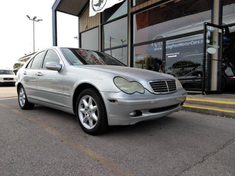 2002 mercedes benz c class for sale in texas for Austin rising fast motor cars