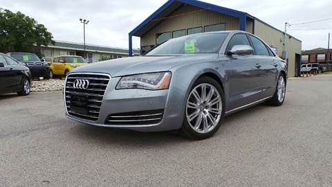 2013 audi a8 for sale for Austin rising fast motor cars
