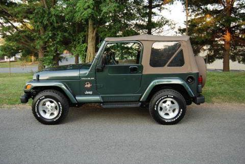 2002 Jeep Wrangler for sale at Blue Line Motors in Winchester VA
