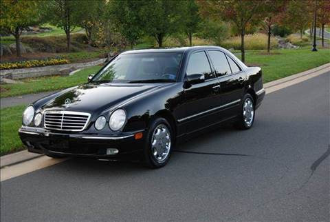 2000 Mercedes-Benz E-Class for sale at Blue Line Motors in Winchester VA