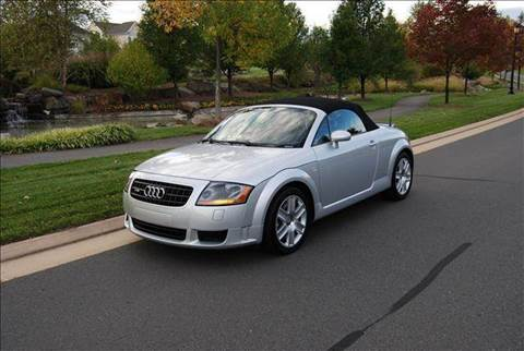2004 Audi TT for sale at Blue Line Motors in Winchester VA