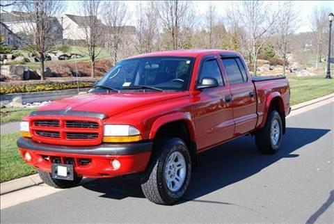 2002 Dodge Dakota for sale at Blue Line Motors in Winchester VA