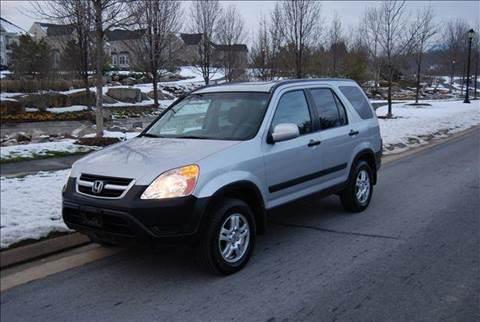 2004 Honda CR-V for sale at Blue Line Motors in Winchester VA