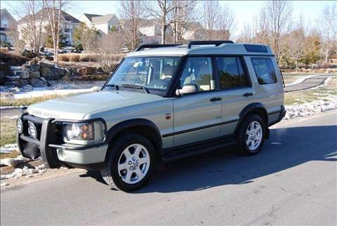 2004 Land Rover Discovery for sale at Blue Line Motors in Winchester VA