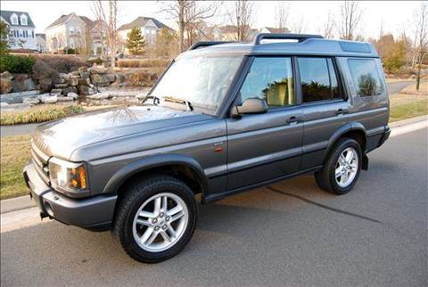 2004 Land Rover Discovery Series II for sale at Blue Line Motors in Winchester VA