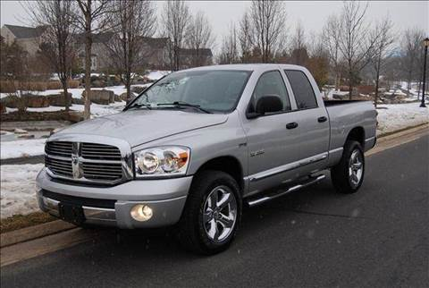 2008 Dodge Ram Pickup 1500 for sale at Blue Line Motors in Winchester VA